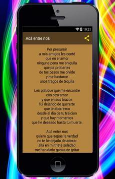 Vicente Fernandez - Canciones screenshot 2