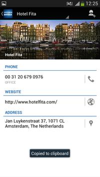 Amsterdam Hotels poster
