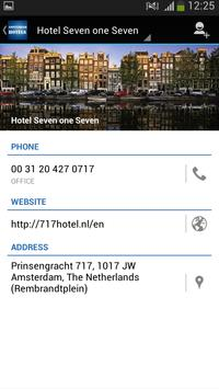 Amsterdam Hotels apk screenshot