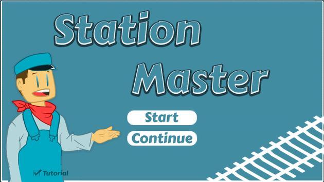 Station Master Poster