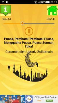 Ceramah Islam Fikih Ramadan 2 apk screenshot