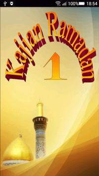 Ceramah Islam Kajian Ramadan 1 poster