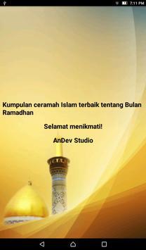 Ceramah Islam Kajian Ramadan 1 apk screenshot