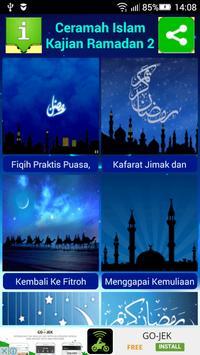 Ceramah Islam Kajian Ramadan 2 apk screenshot
