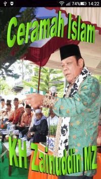 Ceramah Islam KH Zainuddin MZ poster