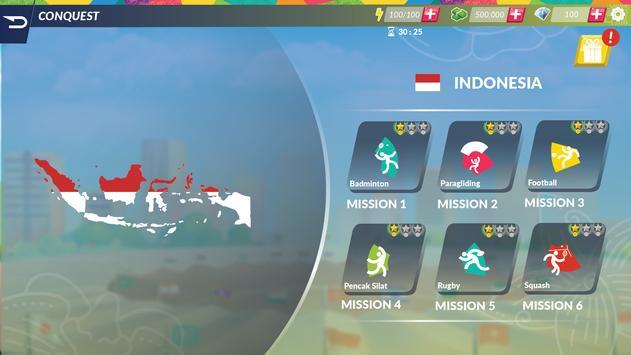 18th Asian Games 2018 Official Game screenshot 4