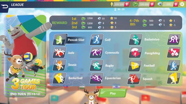 18th Asian Games 2018 Official Game screenshot 5