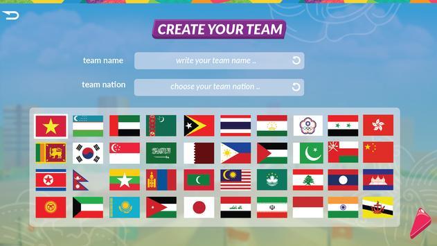 18th Asian Games 2018 Official Game screenshot 1