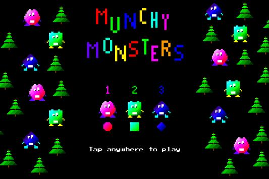 Munchy Monsters poster