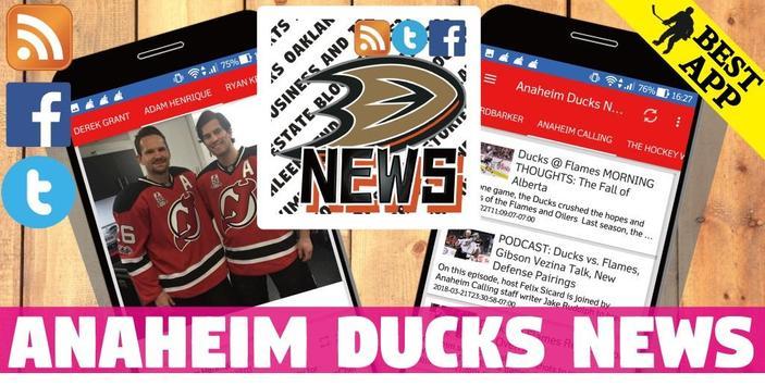 Anaheim Ducks All News poster