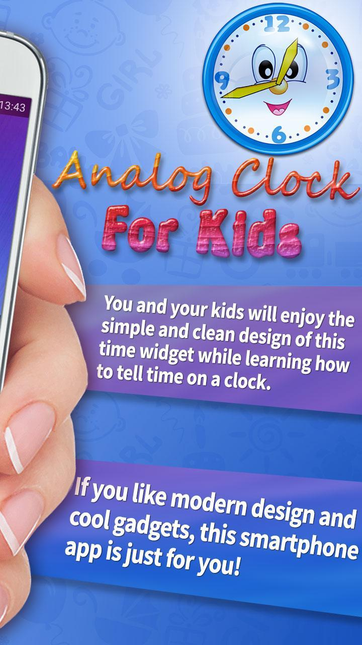 Analog Clock For Kids for Android - APK Download