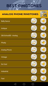 Analog Phone Ringtones screenshot 1