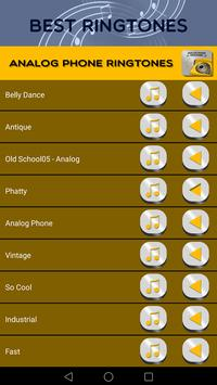 Analog Phone Ringtones screenshot 1