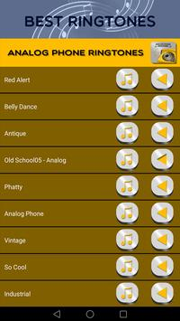 Analog Phone Ringtones screenshot 2