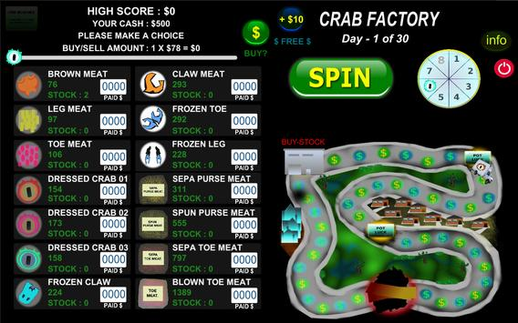 Crab Factory screenshot 1