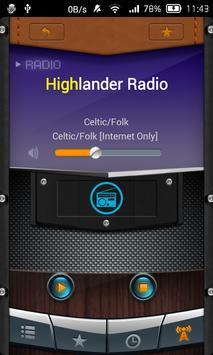 Radio Celtic screenshot 2