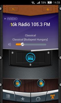 Radio Hungarian poster
