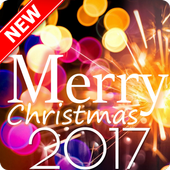 Merry Christmas Greeting and Happy New Year 2019 icon