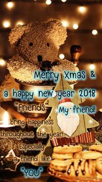 Merry Christmas Greeting and Happy New Year 2019 apk screenshot