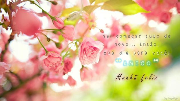 Imagens com Frases de Bom Dia AMOR apk screenshot