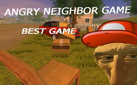 Angry Neighbor Game poster