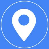 Latitude Longitude Location icon
