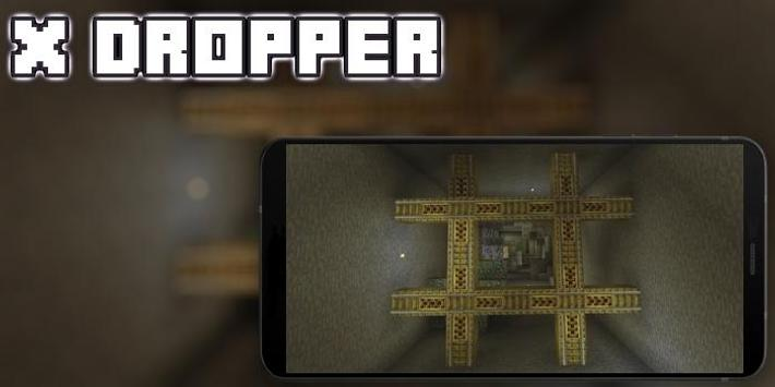 The X Dropper Map MCPE poster