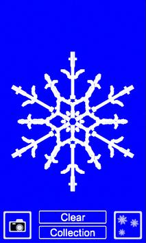 Draw your own snowflake poster