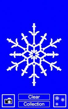 Draw your own snowflake apk screenshot