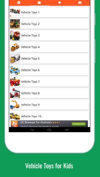 Vehicle Toys For Kids screenshot 2