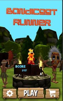 Bandicoot Runner poster
