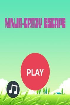 Ninja Crazy Escape - Free Game poster