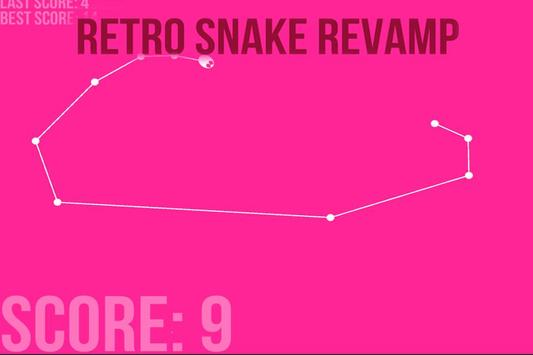 Retro snake revamp - Eat Eggs poster