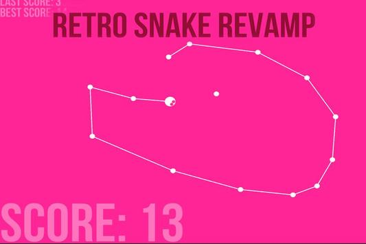Retro snake revamp - Eat Eggs screenshot 1