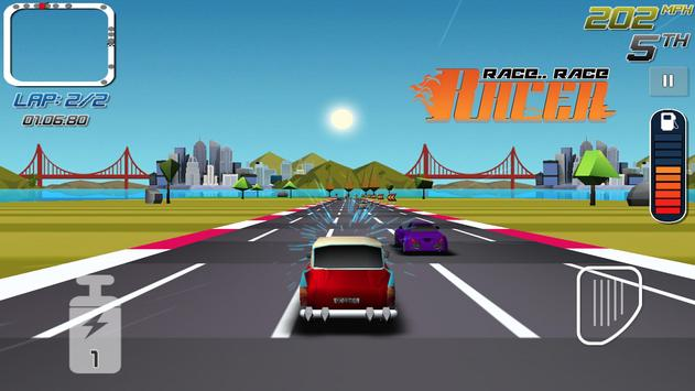 Race Race Racer - Car Racing apk screenshot