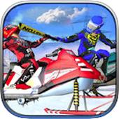 SnowMobile Racing :Bike racing icon