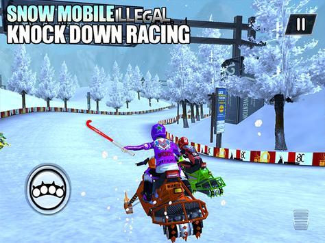 SnowMobile Racing :Bike racing apk screenshot