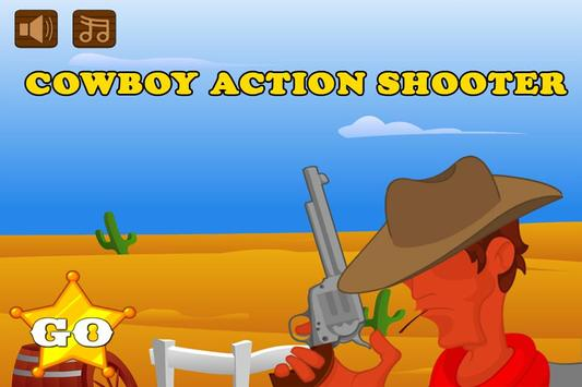 Cow Boy Action Shooter Games poster