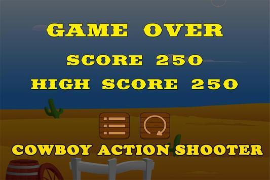 Cow Boy Action Shooter Games apk screenshot