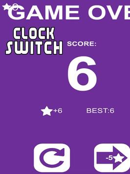 Clock Switch - Addictive Game apk screenshot