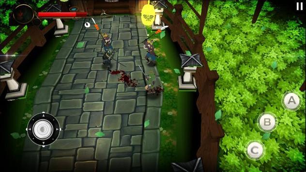 Ultimate Hero warrior screenshot 1