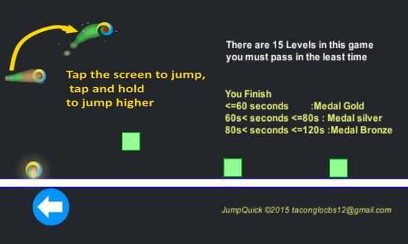 Jump Quick screenshot 1