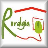 Ruralgia. Cottages. icon
