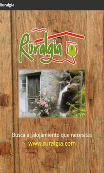 Ruralgia. Cottages. poster