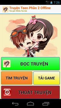 Truyện Teen Phần 2 Offline - Truyện Hay apk screenshot