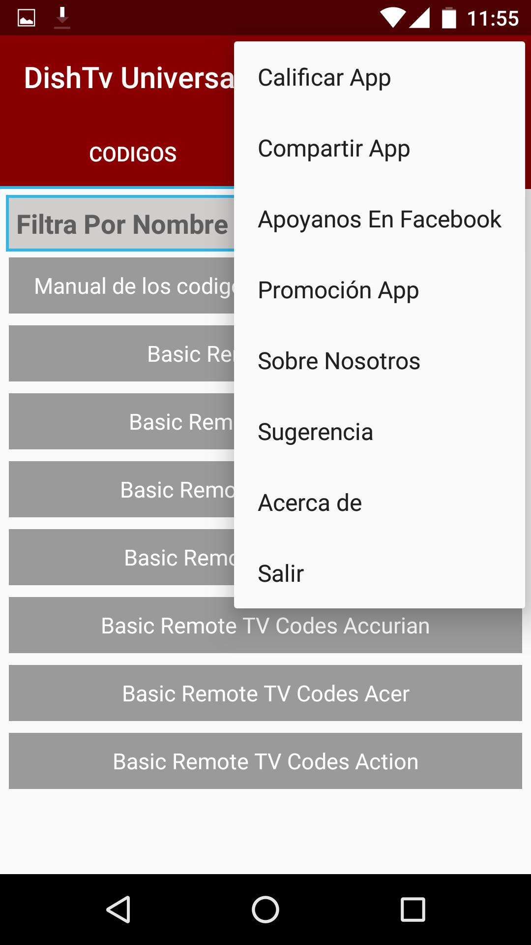 Code Control For Dish Tv for Android - APK Download