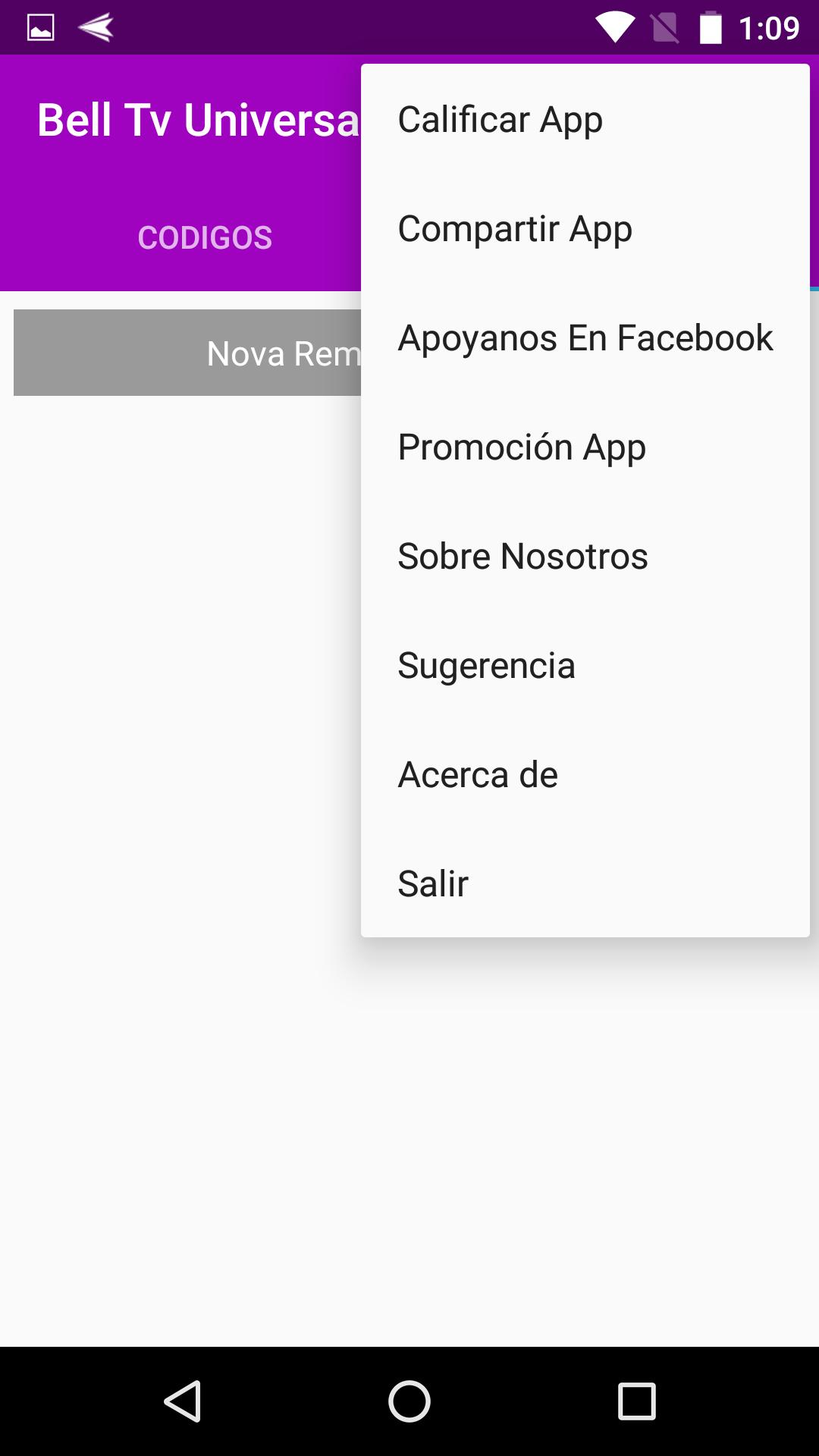 Codigo Control Para Bell Tv para Android - APK Baixar