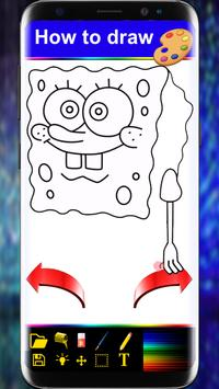 Drawing Book For Spongbob (Bob l'éponge)stp by stp screenshot 3