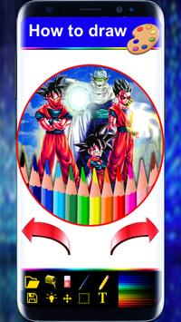 How to Draw Super Saiyan book The easy Way poster