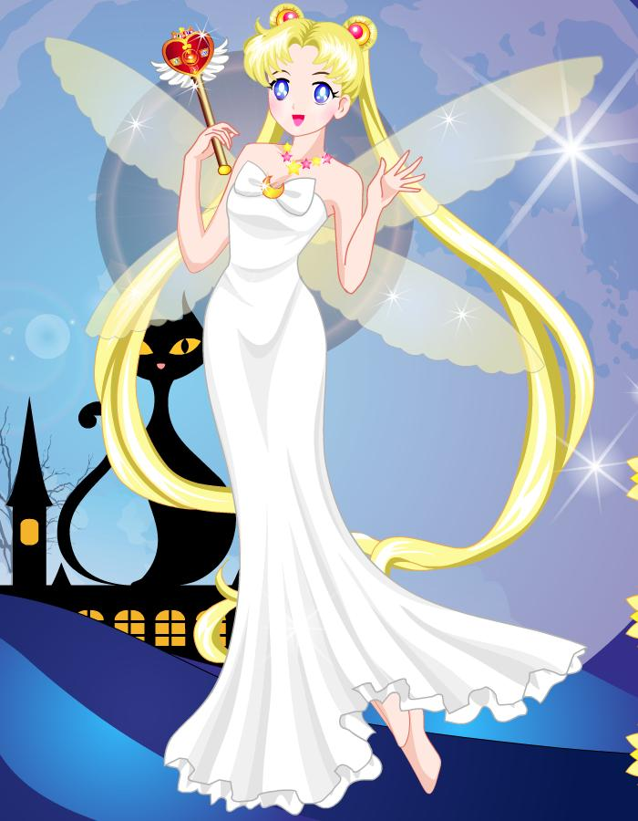 Dress Up Sailor Moon For Android Apk Download